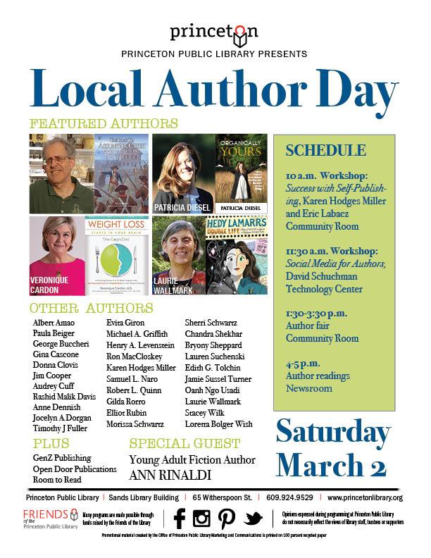 2019 Local Author Day